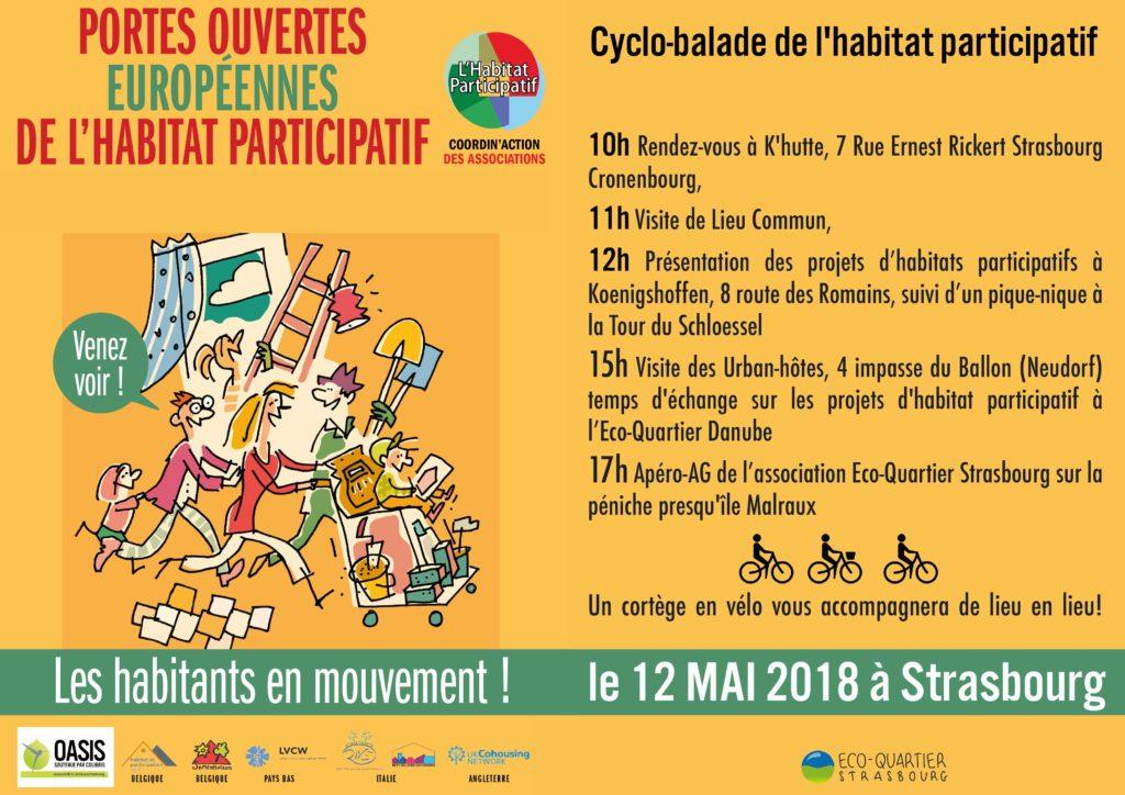 Affiche des JPO Habitat participatif